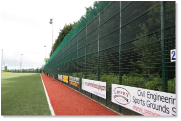 Rogers Pro Sport 3G pitch fencing Ireland